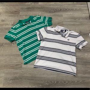 Set of 2 men's polo shirts